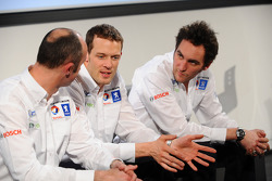 David Brabham, Alexander Wurz and Franck Montagny