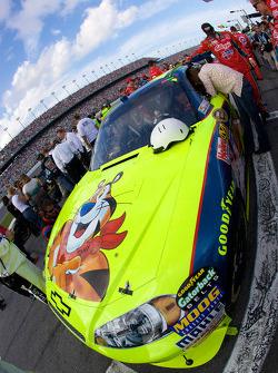 Pole sitter Mark Martin, Hendrick Motorsports Chevrolet