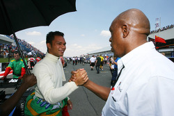 Adrian Zaugg, driver of A1 Team South Africa and