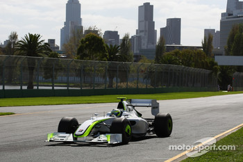 Rubens Barrichello, Brawn GP, BGP001, BGP 001