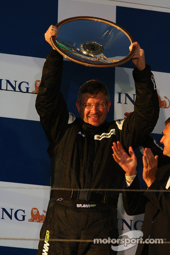 Podium: Ross Brawn Brawn Grand Prix Team Principal