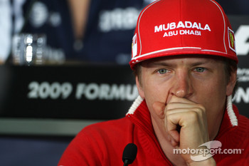 FIA press conference: Kimi Raikkonen, Scuderia Ferrari