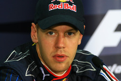 FIA press conference: Sebastian Vettel, Red Bull