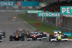 Start: Jenson Button, Brawn GP