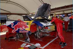 Citroen Total World Rally Team service area