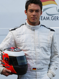 Andre Lotterer driver of A1 Team Germany