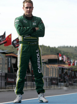 Adam Carroll, driver of A1 Team Ireland