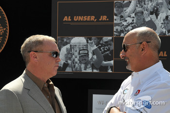 Al Unser Jr. and Bobby Rahal