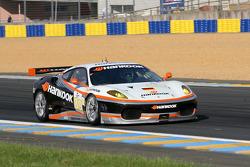 #89 Hankook - Team Farnbacher Ferrari F430 GT: Allan Simonsen, Dominik Farnbacher