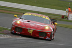 #78 BMS Scuderia Italia Ferrari 430 GT2: Kenneth Heyer, Diego Romanini