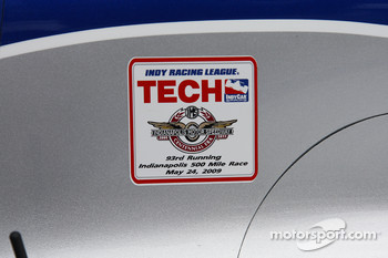 Tech inspection sticker