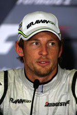 FIA press conference: pole winner Jenson Button, Brawn GP