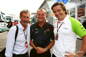Eddie Jordan and friends