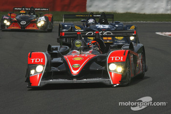 #15 Kolles Audi R10 TDI: Christian Bakkerud, Christijan Albers, Giorgio Mondini