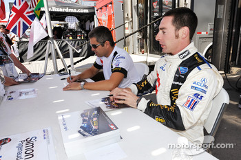 Simon Pagenaud and Gil de Ferran