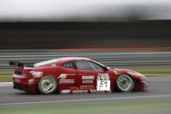 #51 AF Corse Ferrari 430 GT2: Alvaro Barba Lopez, Niki Cadei