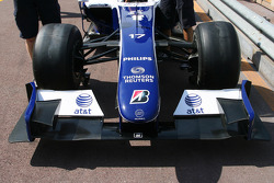 Front wing of the Williams