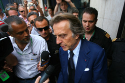 Luca di Montezemolo, Scuderia Ferrari, FIAT Chairman and President of Ferrari goes to the meeting with Bernie Ecclestone and Max Mosley at the ACM.