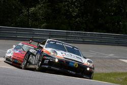 #6 Hankook H & R Spezialfedern Porsche 997: Jürgen Alzen, Uwe Alzen, Christian Menzel, Dominik Schwager