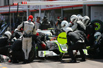 Pitstop of Rubens Barrichello, Brawn GP