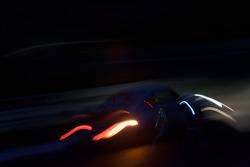Wild lights at night
