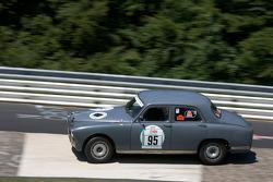 #95 Alfa Romeo 1900 TI: Jan Rotenberger, Uwe Koenzen