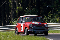 #96 Morris Mini Cooper S: Martin Burhenne, Peter Stohrmann