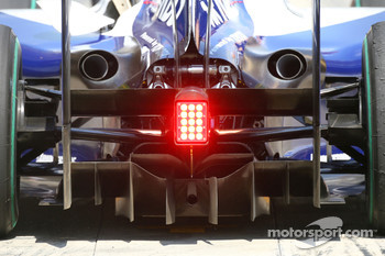 Williams F1 Team diffusor