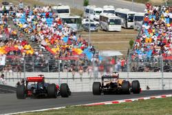 Lewis Hamilton, McLaren Mercedes, Nelson A. Piquet, Renault F1 Team