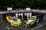 #63 Corvette Racing Corvette C6.R: Johnny O'Connell, Jan Magnussen, Antonio Garcia, #64 Corvette Racing Corvette C6.R: Olivier Beretta, Oliver Gavin, Marcel Fssler