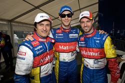Stéphane Ortelli, Bruno Senna and Tiago Monteiro
