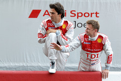 Lucas Luhr and Allan McNish
