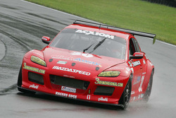 #30 Racers Edge Motorsports Mazda RX-8: Dane Cameron, Tom Sutherland