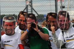 Fans of Jenson Button, Brawn GP