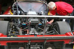 Back detail on the #77 Doran Racing Ford Dallara: Memo Gidley, Brad Jaeger