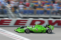 Dario Franchitti, Target Chip Ganassi Racing wins the race