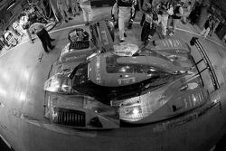 Pit stop for #13 Speedy Racing Team Sebah Lola Aston Martin: Andrea Belicchi, Nicolas Prost, Neel Jani