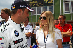 Jorg Muller, BMW Team Germany with his girlfriend