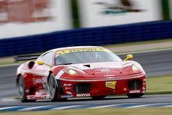 #78 BMS Scuderia Italia Ferrari 430 GT2: Kenneth Heyer, Diego Romanini