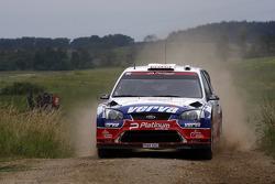 Krzysztof Holowczyc and Lukasz Kurzeja, Ford Focus RS WRC 08, Stobart VK M-Sport