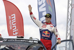 Podium: second place Daniel Sordo