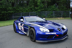 The No. 71 Circle B Motorcars Mercedes-Benz SLR McLaren 722 GT