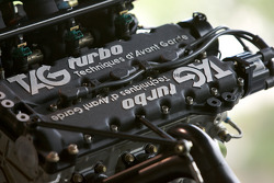 1986 McLaren TAG MP 4/2 C Formula 1 V6 Turbo engine