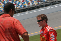 Brad Daugherty and Kasey Kahne