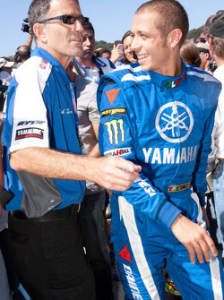 Go-kart promotional event: Valentino Rossi, Fiat Yamaha Team