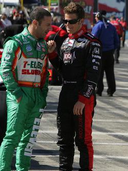 Tony Kanaan, Andretti Green Racing and Marco Andretti, Andretti Green Racing