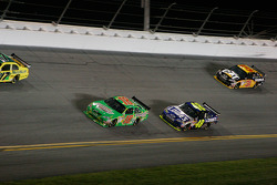Kyle Busch, Joe Gibbs Racing Toyota, Jimmie Johnson, Hendrick Motorsports Chevrolet, Jeff Burton, Richard Childress Racing Chevrolet
