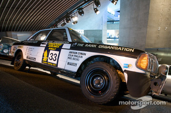 Silver arrows: 1977 Mercedes-Benz 280 E rally car
