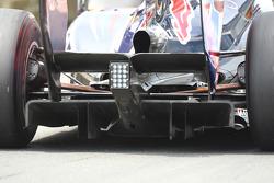 Mark Webber, Red Bull Racing rear diffuser