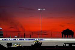 Mark Martin, Hendrick Motorsports Chevrolet, Kyle Busch, Joe Gibbs Racing Toyota, Sam Hornish Jr., Penske Racing Dodge